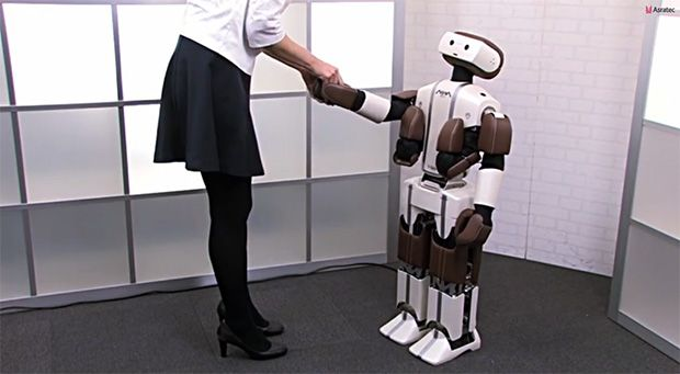 Humanoid ASRA C1 and V-Sido Robot Operating System Unveiled by SoftBank