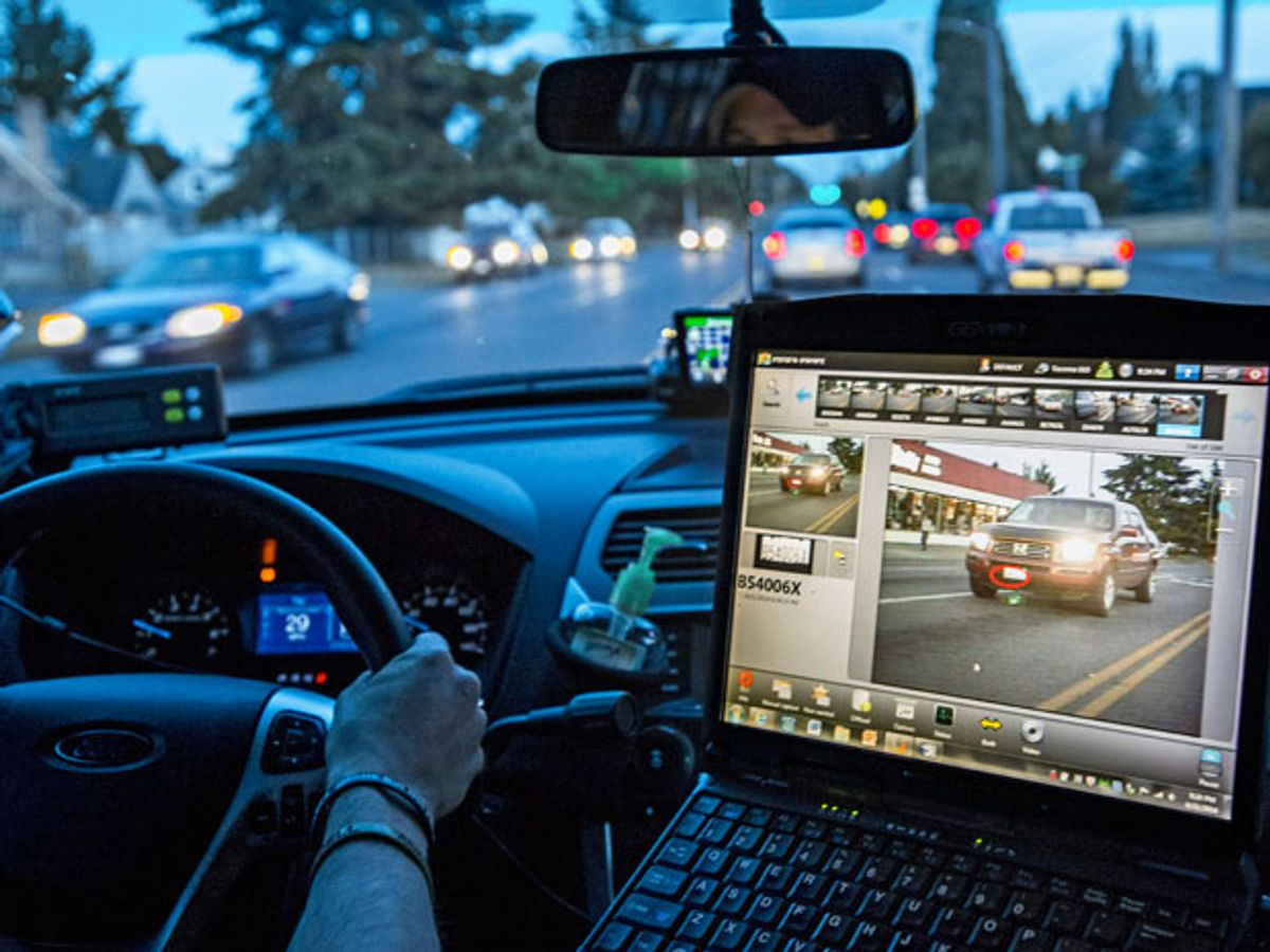 70 Percent of U.S. Police Departments Use License Plate Readers