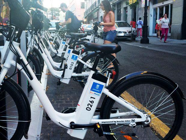 Madrid Begins Electric Bike Sharing