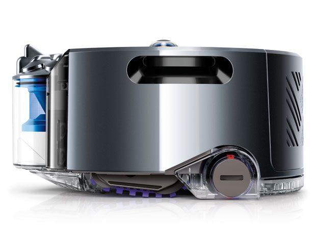 Dyson's Robot Vacuum Has 360-Degree Camera, Tank Treads, Cyclone Suction
