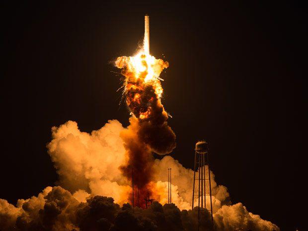 Orbital's Rocket Disaster Narrows Space Station Resupply Options