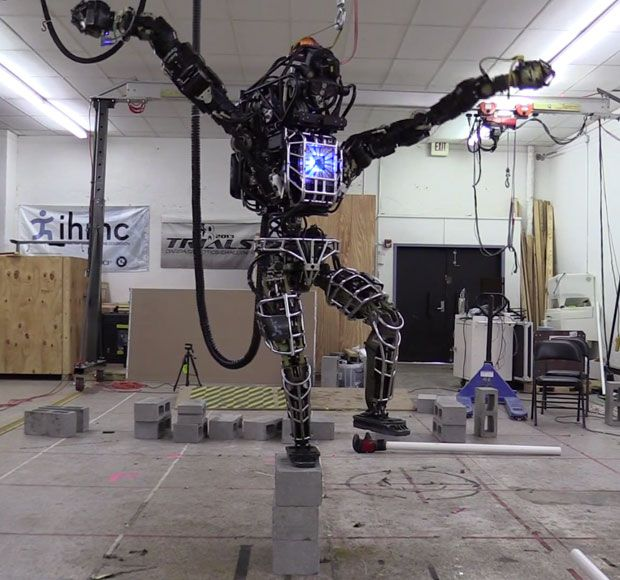 IHMC's Atlas Learning Crane Kick, Will Destroy Competition at DRC Finals