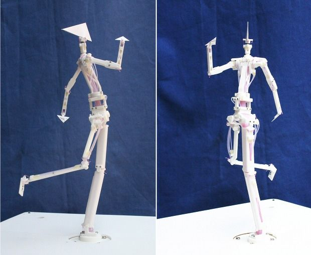 Japanese Company Creating Robotic Action Figures