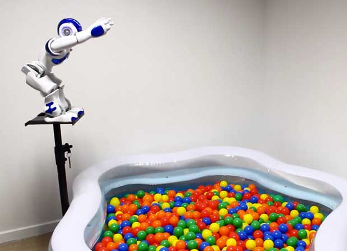 Video Monday: Robot Snake Monster, Nao in a Ball Pit, and Holidays Are Over