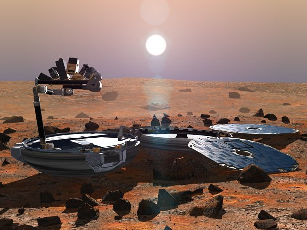 Lost Beagle 2 Robot Found Intact on Mars After a Decade