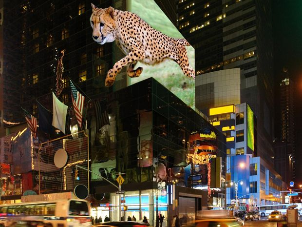 Laser-Powered Giant 3-D Display in the Works
