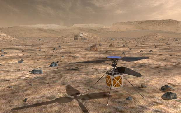 Video Friday: Mars Helicopter, 100 Dancing Robots, and Putin's Combat Cyborg