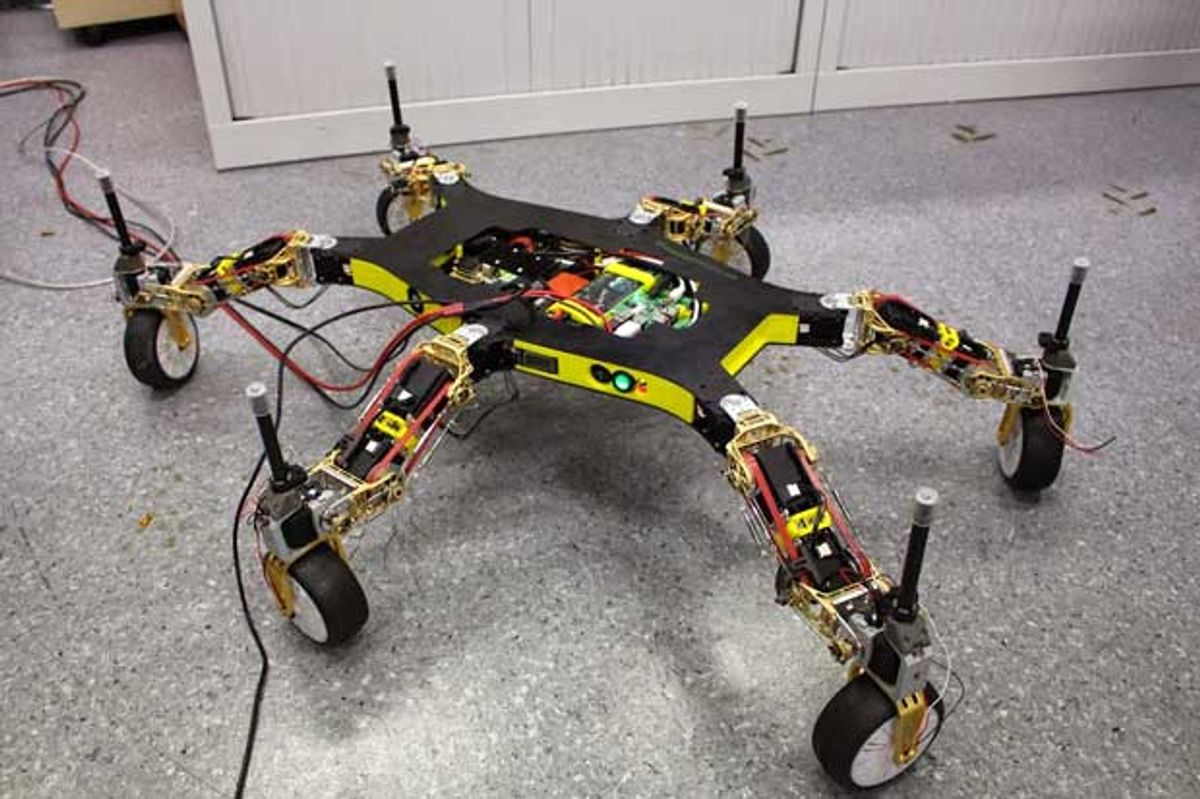 Creadapt: How to Make a Robot That Cannot Be Stopped