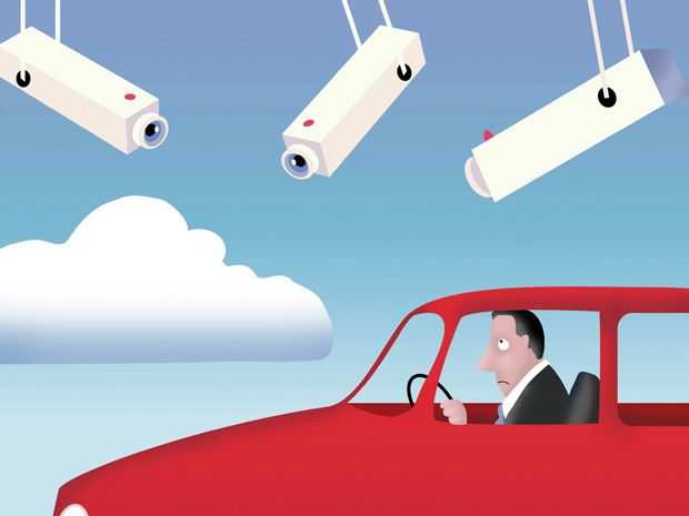 Big Brother Is Watching Your Car—in Real Time