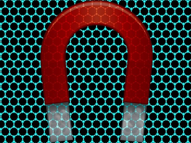 Graphene Becomes Magnetic and Electric at Same Time