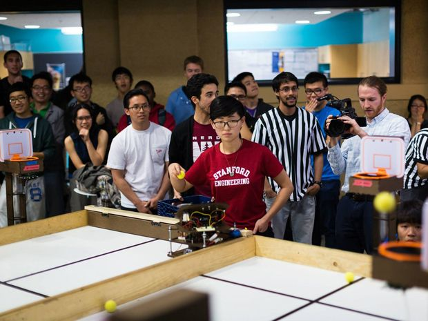 March Madness at Stanford: Robots Shoot and Dunk
