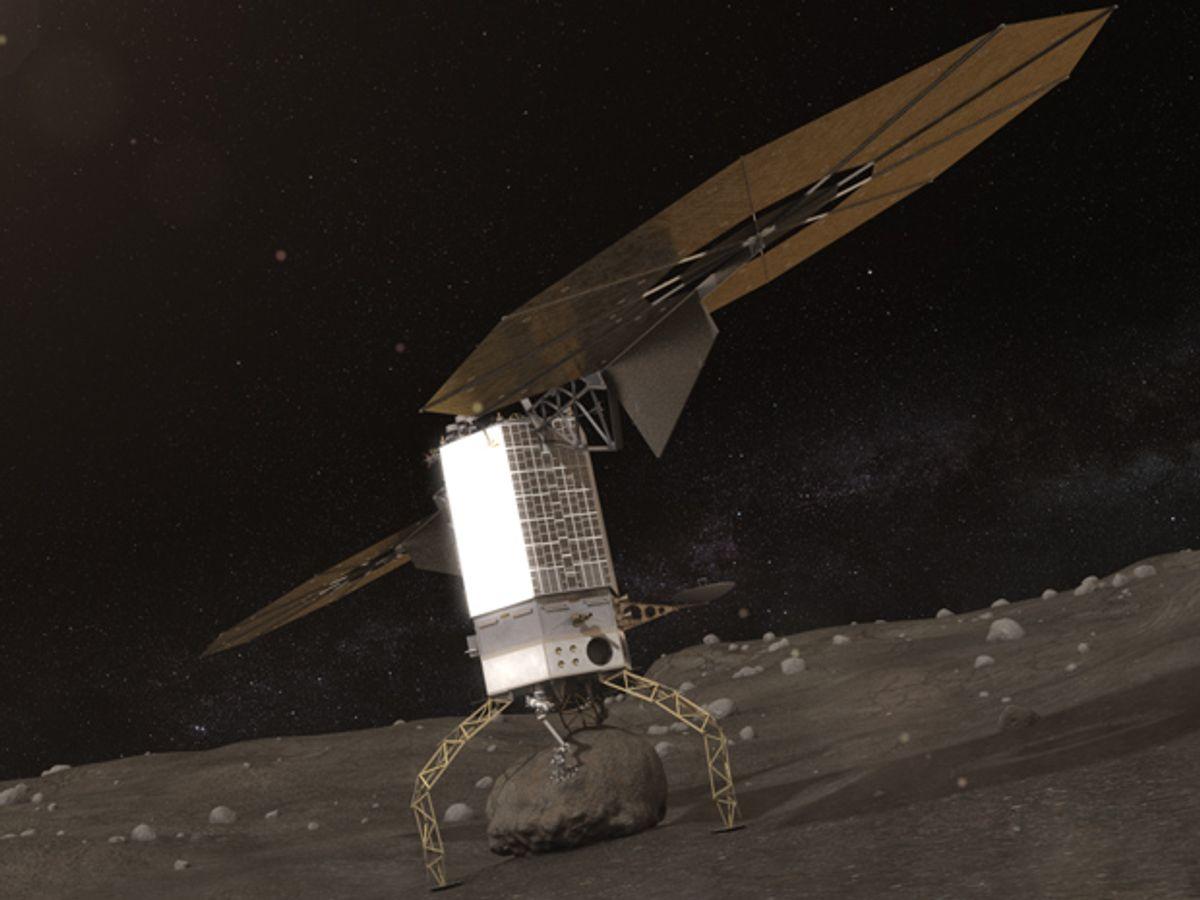 NASA Details 2020s Asteroid Capture Mission