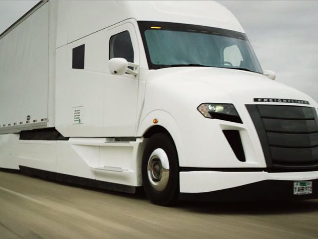 Freightliner's SuperTruck Prototype Boosts Efficiency by 115 Percent