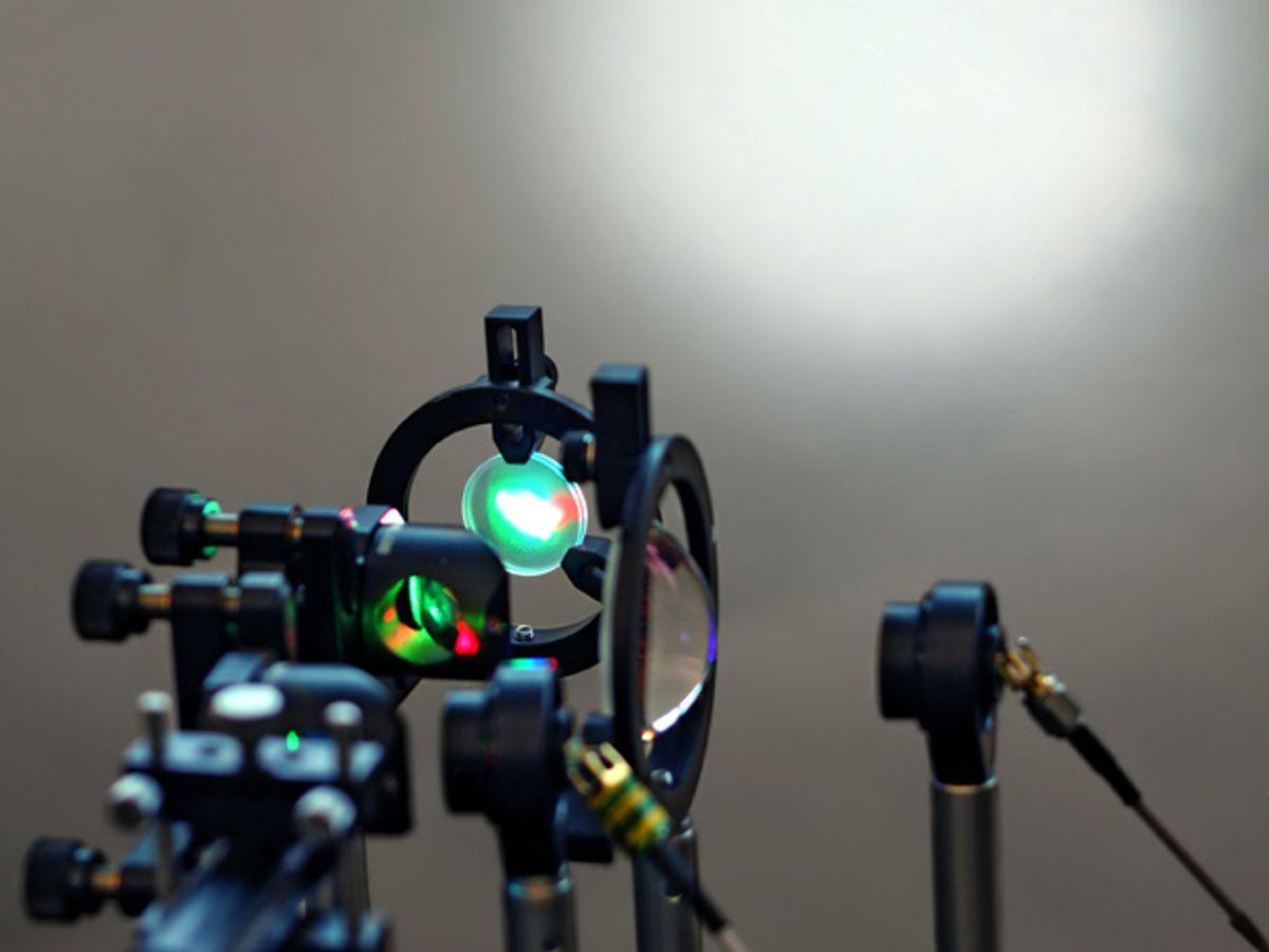Laser Li-Fi Could Blast 100 Gigabits per Second