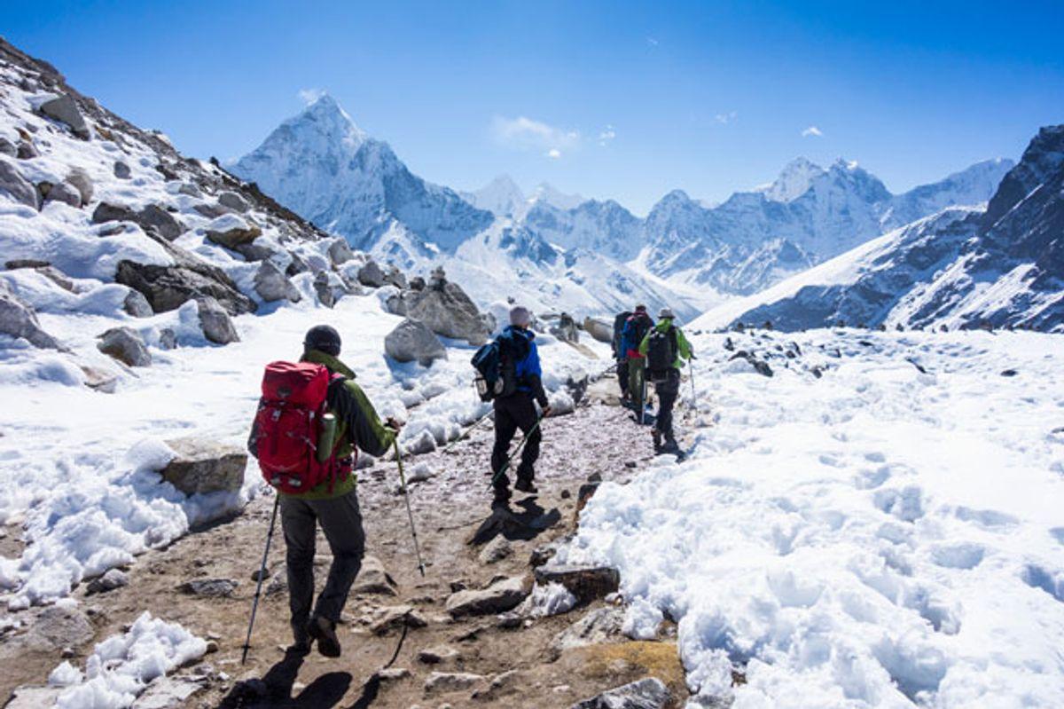 Engineers Attack Mt. Everest's 12-Ton Poop Problem