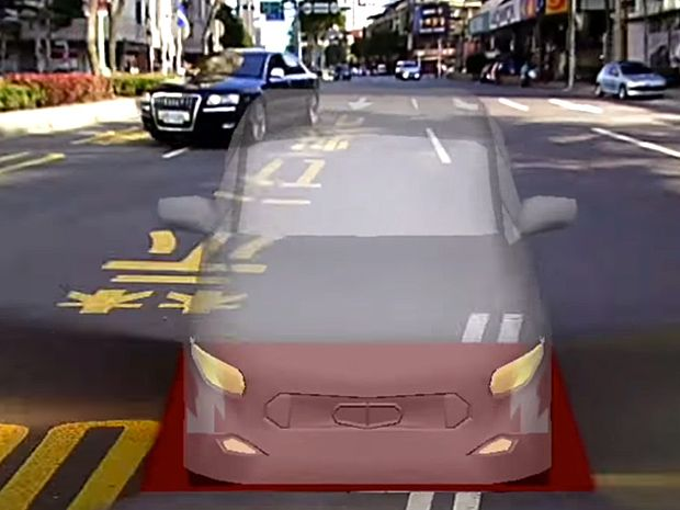 Camera Array Gives You Real-Time Third Person View As You Drive