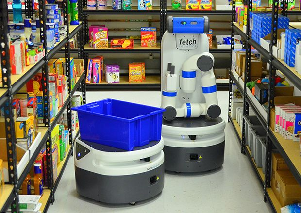 Fetch Robotics Introduces Fetch and Freight: Your Warehouse Is Now Automated