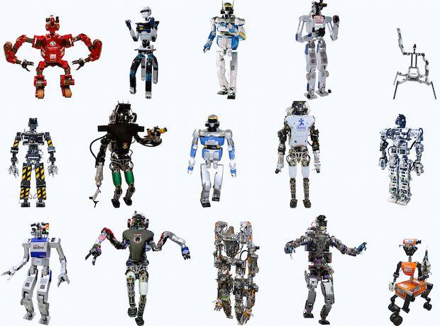 DARPA Robotics Challenge Finals: Know Your Robots
