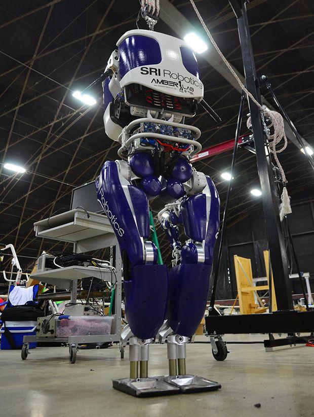 DURUS: SRI's Ultra-Efficient Walking Humanoid Robot