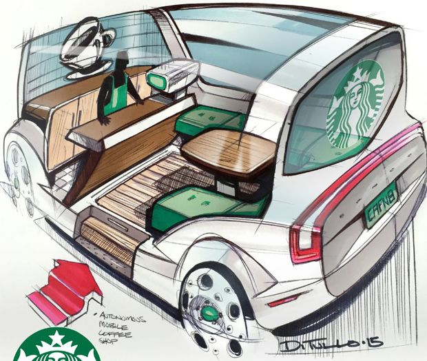 How Would You Like Your Robo-Car? Barista-bot? Burrito-mobile? Rolling Movie Theater?