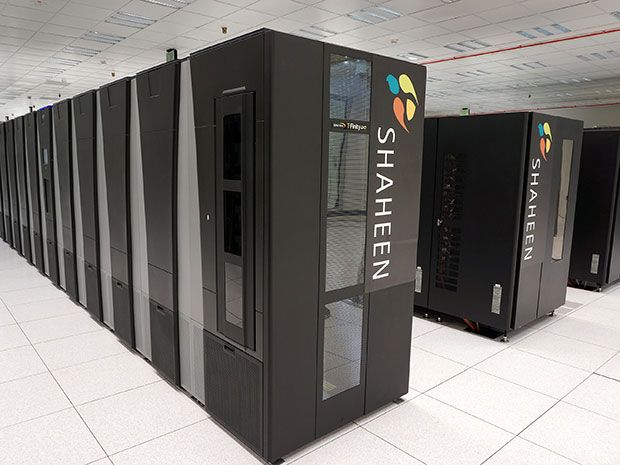 A Middle East Supercomputer Makes the Top 10 List for the First Time