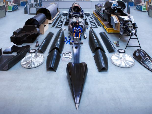 Building Bloodhound: The Fastest Car in the World