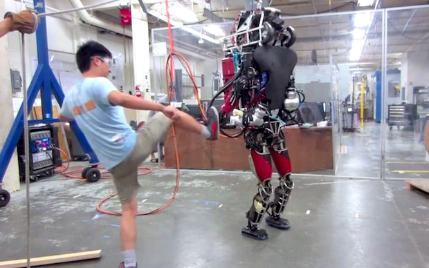Video Friday: Atlas Kicked, Tea-Brewing Robot, and Rodney Brooks's Giant Brains