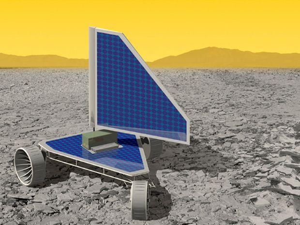 NASA Commissions Ultra High Temp Chips for Venus Landsailing Rover