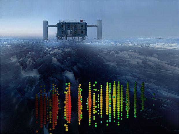Gigantic Antarctic Instrument, IceCube, Finds Mysterious Cosmic Neutrinos