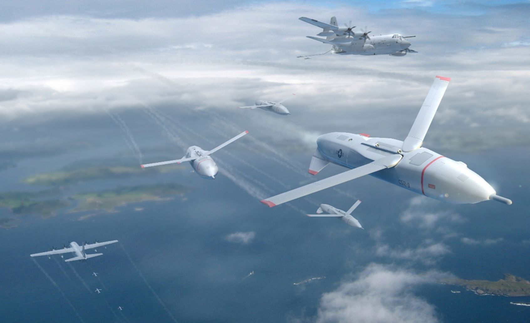 """DARPA Wants Swarms of Cheap """"Gremlin"""" Drones"""