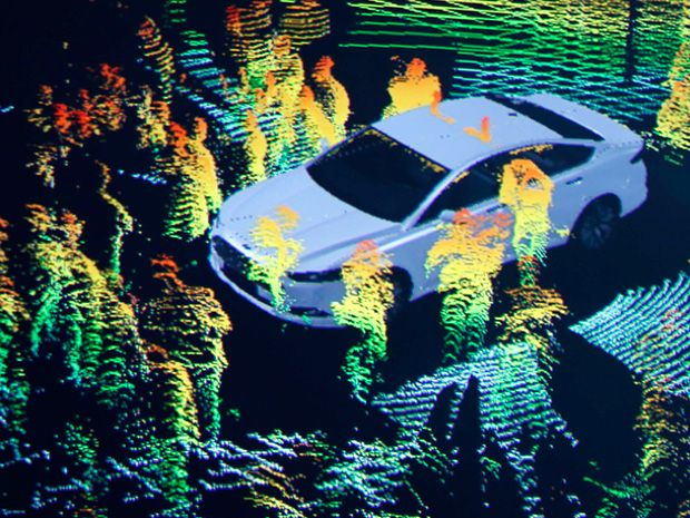 Researcher Hacks Self-driving Car Sensors