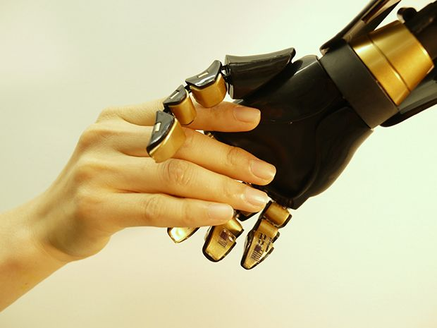 The Artificial Skin That Could Deliver the Sense of Touch Directly to the Brain