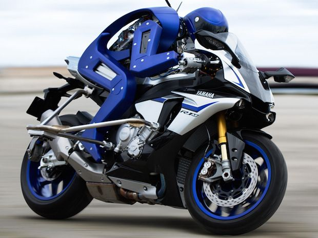 Video Friday: Motorcycle Robot, Paper Plane Drone, and R2-D2 Fridge