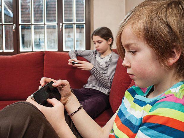 Teaching Children to Talk, Not Text