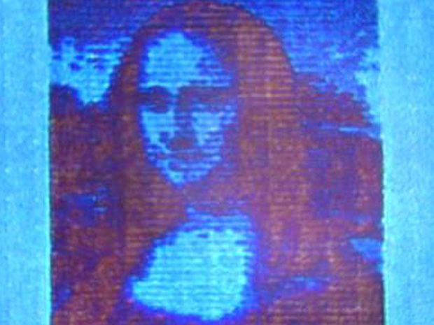 Laser Printing a Nanoscale Mona Lisa Could Revolutionize Reproduction Technology