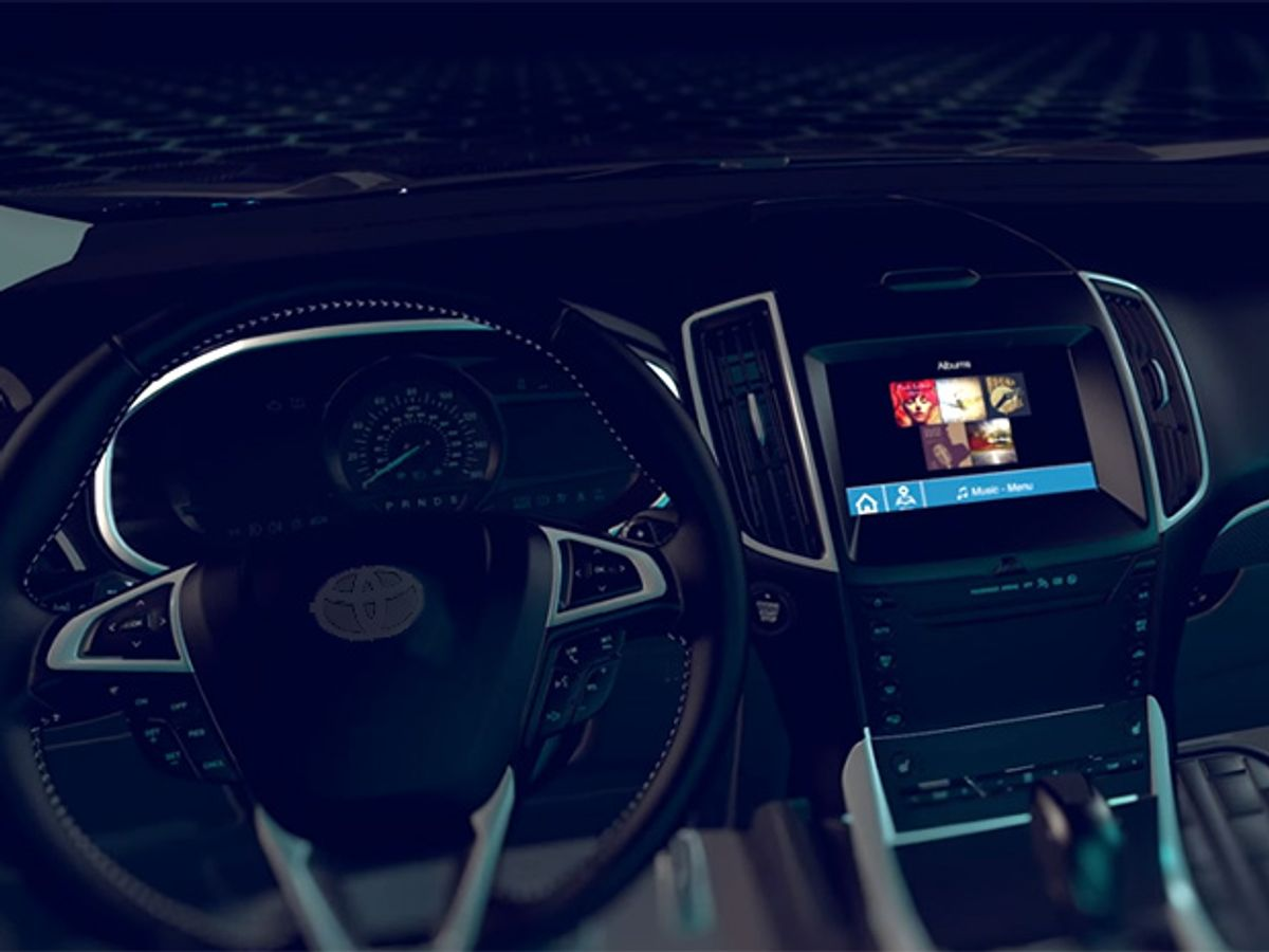 Toyota Takes Tech From Ford--Nixing Apple and Google