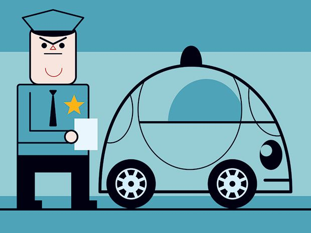 Self-Driving Cars Will Be Ready Before Our Laws Are