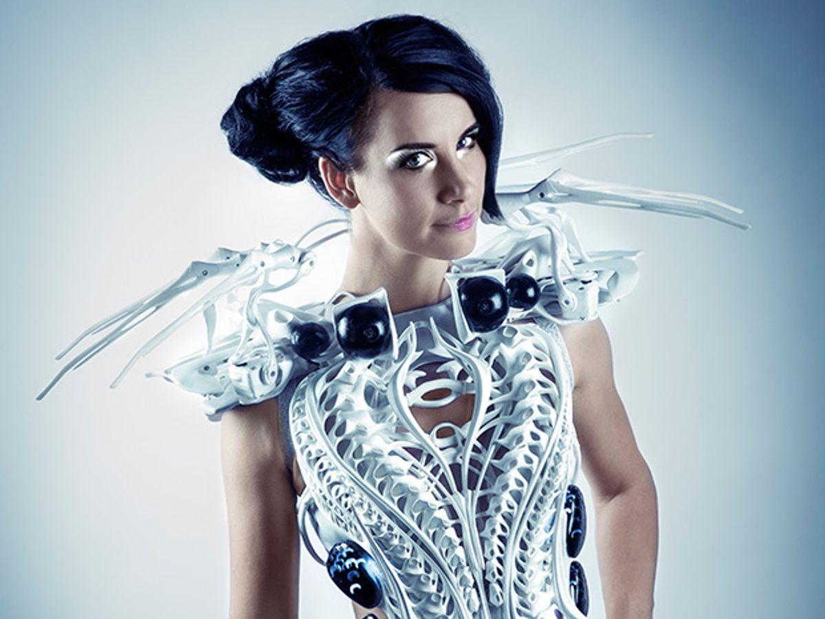 Profile: Anouk Wipprecht's Dynamic Dresses