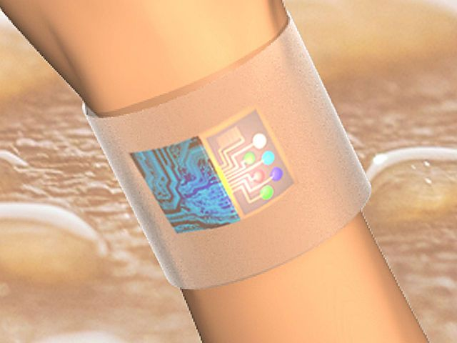 Smart Wearable Sensor Takes Sweat-Monitoring To Next Level