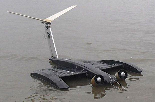 Vibrating Bat Wings Inspire Efficient Sea-Skimming Drones