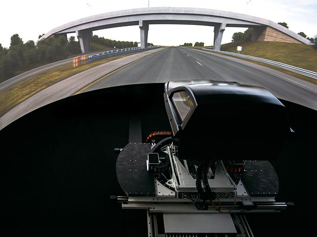Driving Simulation Without Tears—Or Nausea