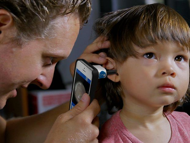 Diagnosing Ear Infections With a New Smartphone Gadget