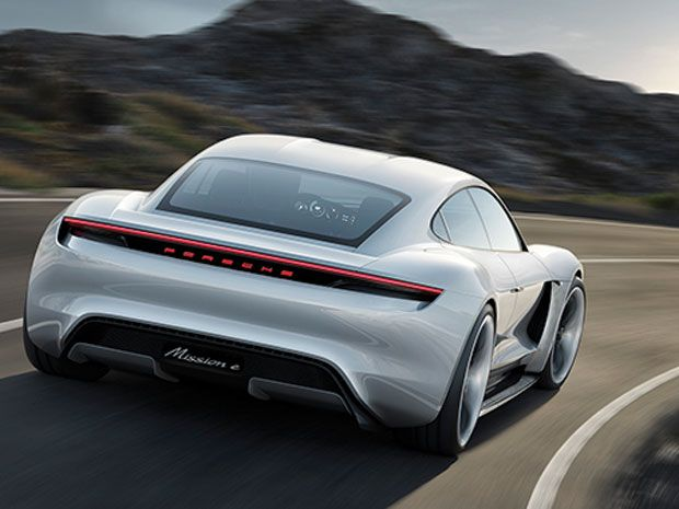 2016's Top Ten Tech Cars: Porsche Mission E Concept