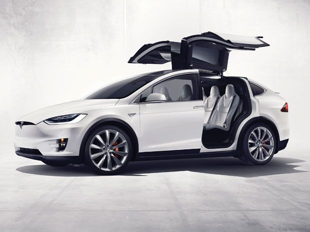 2016's Top Ten Tech Cars: Tesla Model X