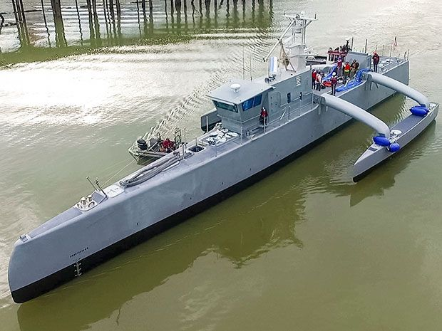 DARPA's Self-Driving Submarine Hunter Steers Like a Human