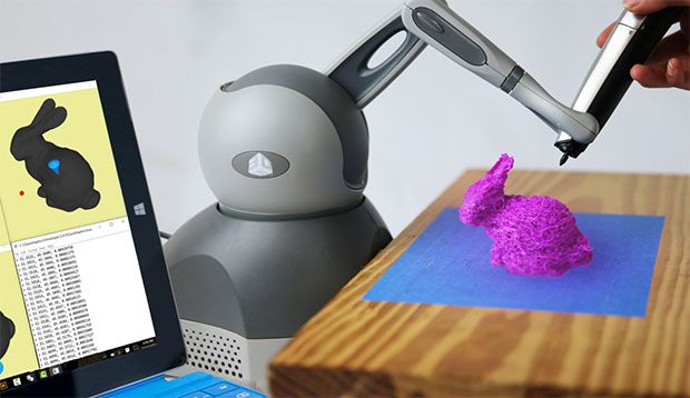 """Robot Arm Helps You 3D Print By """"Guided Hand"""""""