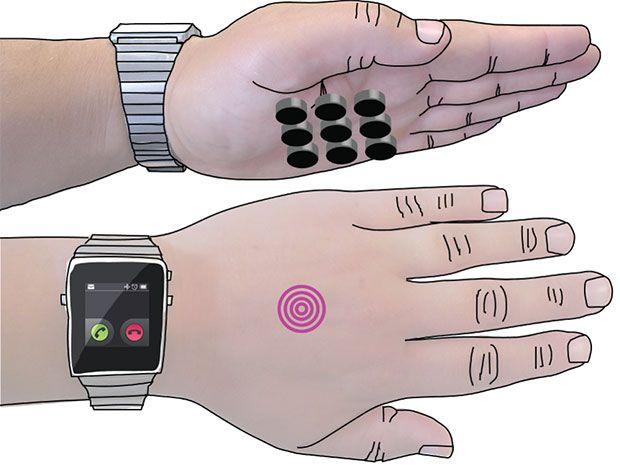 SkinHaptics Uses Ultrasound to Generate Haptic Feedback Through Your Body