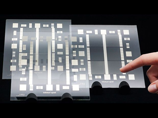 One-Step Process Could Lead to Roll-to-Roll Production of Touchscreen Displays