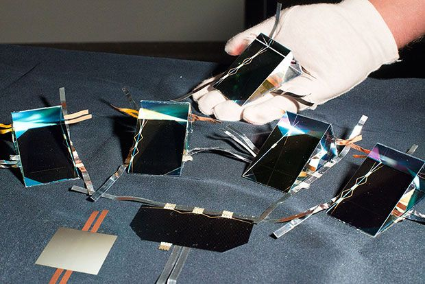 Four-Junction Solar Cell Claims Efficiency Record