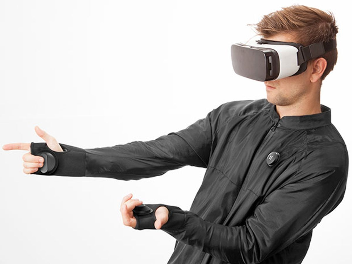 You've Got the VR Glasses—But Do You Have the VR Jacket?